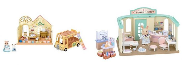 One Day Only Calico Critters Forest Nursery Playset Or Country Clinic Play Set For 37 99 Reg 69