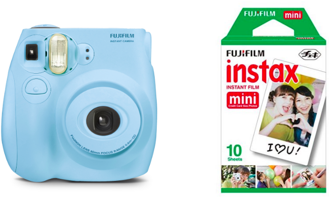 c4607e78c867 Fujifilm Instax Mini 7S Instant Camera (with 10-pack film) for only ...