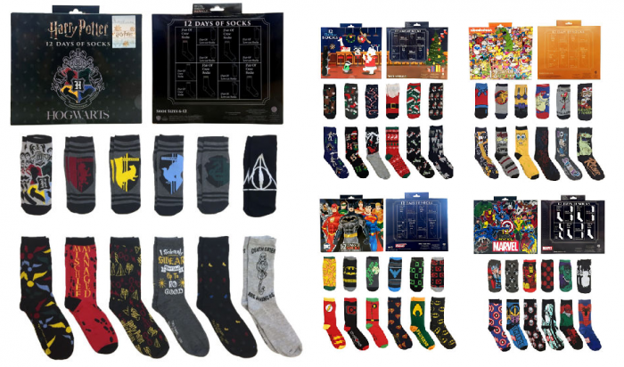ed2c6590c9844 12 Days of Socks Gift Box Sets for $15.99 (reg $40) *Use code HOLIDAYS to  get this price. Code ends 12/12.