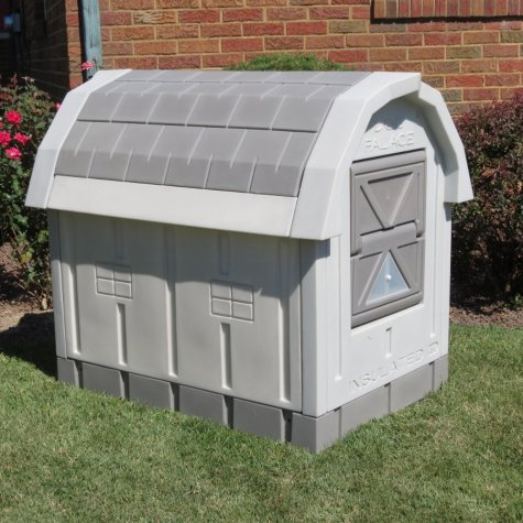 Ends Tonight Deluxe Insulated Dog Palace With Floor Heater For