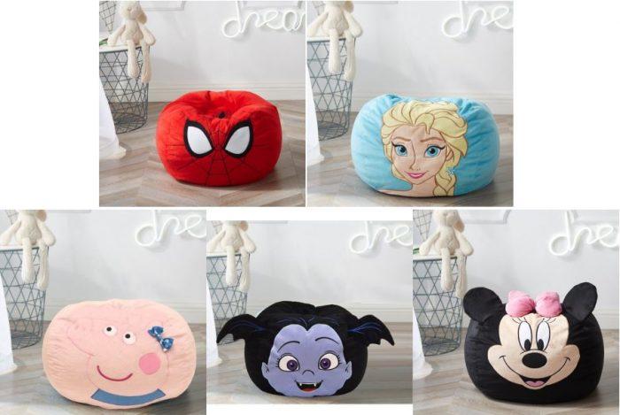Character Bean Bag Chairs For 19 99 Reg 26 99 Utah Sweet Savings