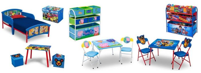 Toddler Character Bedroom Sets from $49.99 & Playroom Sets ...