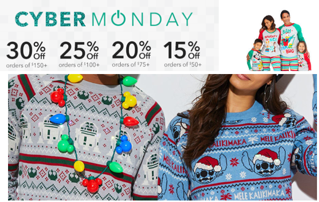 DisneyStore Cyber Monday Sale: Up to 30% Off Code