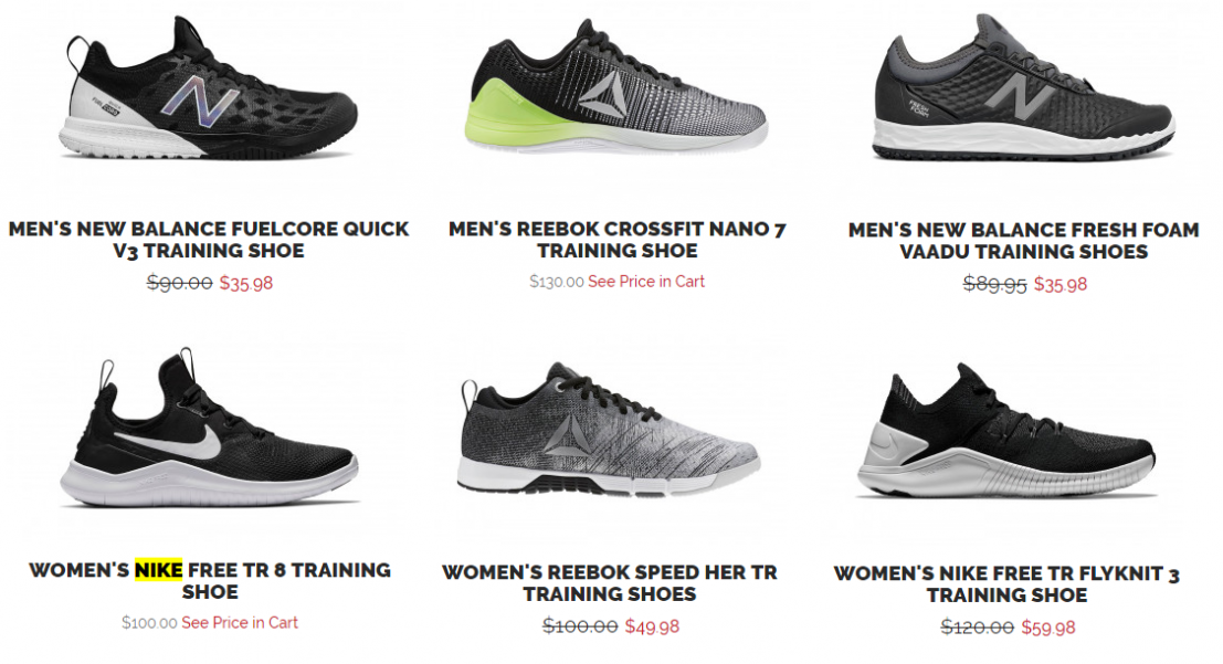 ab60a16c1ec15 There are some sweet deals on Nike, Reebok, and New Balance Training Shoes  right now over at JackRabbit!