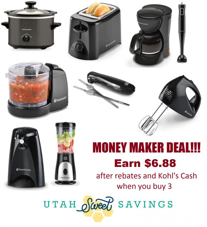 SUPER HOT!!! Money Maker Deal!! Earn $6 88 for 3 Small Appliances