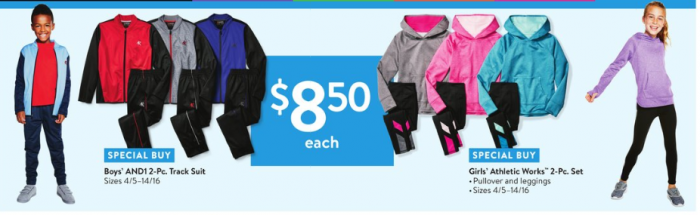 b57843e2aa49c Kids  2-Piece Athletic Apparel Sets for  8.50 (Reg  16.88 to  19.50 ...