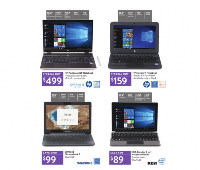 Black Friday Chromebook >> Black Friday Prices On Notebooks Chromebooks Starts At 89
