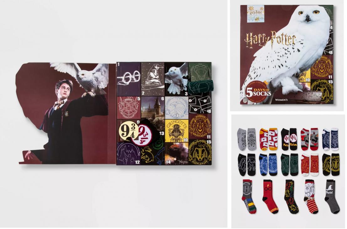 12 Days Of Christmas Socks.Target Women S 15 Days Of Socks Advent Calendars For 15