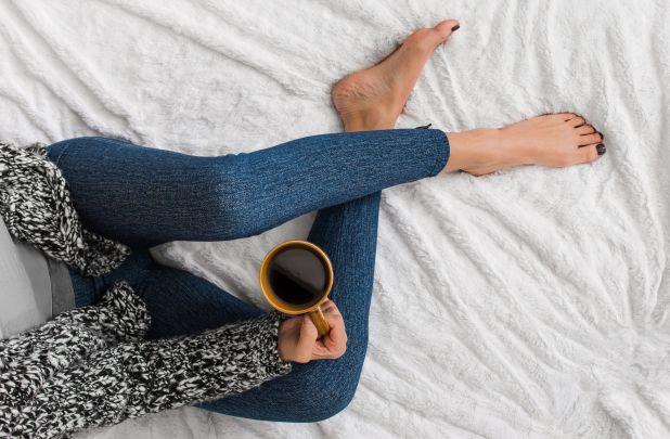 fd121da377f2c4 Layer on the fashion while staying cozy warm. MUK LUKS: Women's Printed  Leggings ...