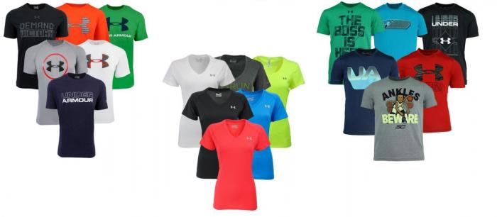 boys under armour shirts on sale