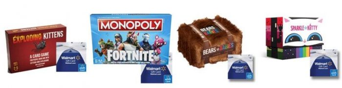 Free 5 10 Walmart Gift Card With Game Purchase Includes