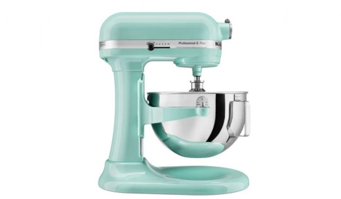 Hot Kitchenaid Professional 5 Qt Ice Blue Mixer For 229