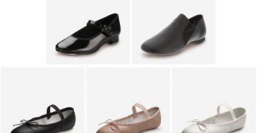 280e0c1de3a Girls  Ballet Shoes for  11.99 (Reg  19.99)