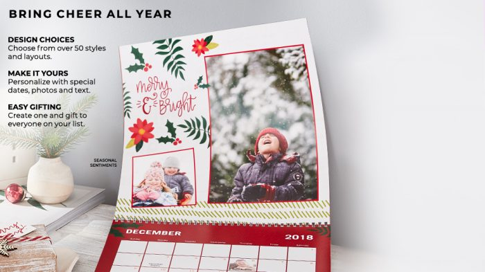 Shutterfly Choose Two Freebies Just Pay Shipping Photo Calendar