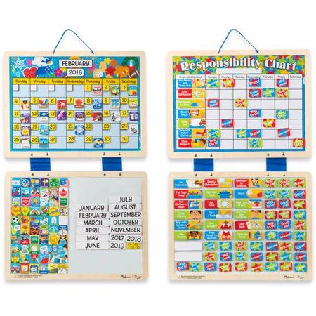 You Can Also Get A Bargain On Both The Melissa Doug Kids Magnetic Calendar And Responsibility Chart Set Is Down To 29 99 Which Like 15 For
