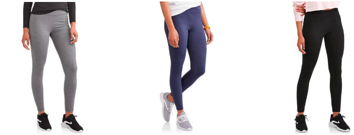 cc04c27f25c18 These three colors of leggings are only $8 right now! All sizes in stock at  the moment! Athletic Works: Women's Core ...