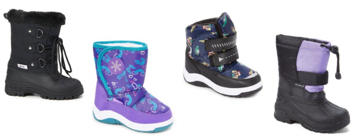 6e4a4bacdd9d There are lots of cute kids snow boots on sale at zulily priced at just   9.99! HURRY! This price ends at 7 am MST tomorrow morning!