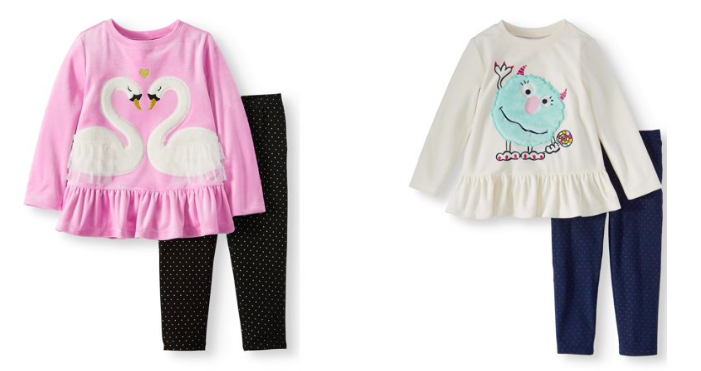 2e891e9154d41 This is such a steal! The monster set is only $3.00 and has sizes 2T-5T and  the swan set is $5.00 and has only has sizes 2T and 3T available.
