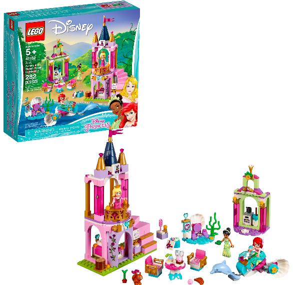 LEGO Disney Princess Ariel, Aurora, And Tiana's Royal