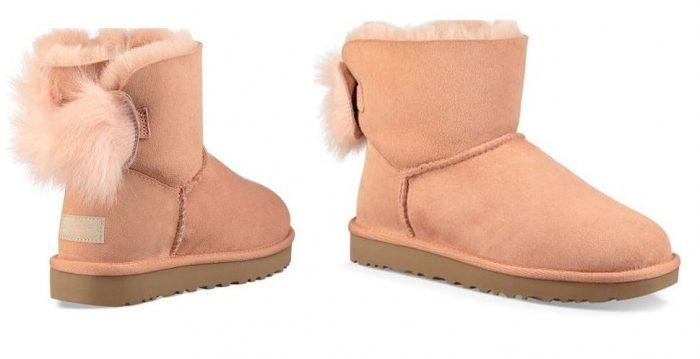 39389b4d296 UGG® Women's Suntan Fluff Bow Suede Boot $69.99 (reg $170.00) – Utah ...