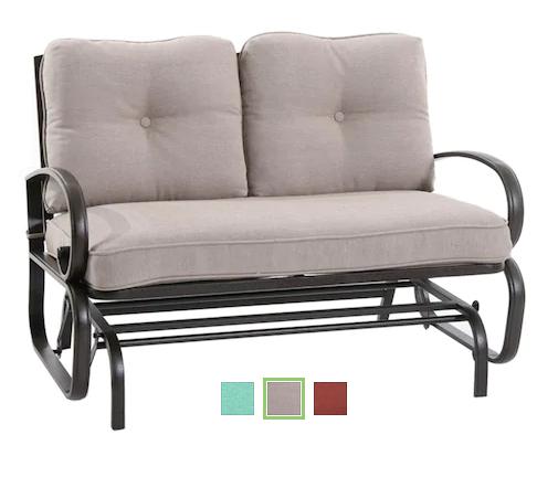 Patio Furniture Loveseat Glider.Sonoma Claremont Patio Loveseat Glider 125 99 20 Kohl S Cash