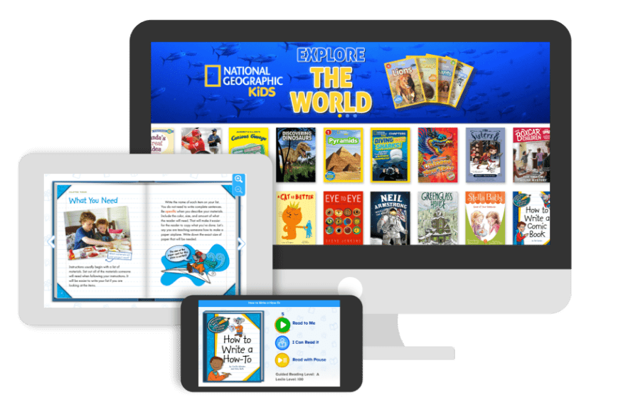 ReadingIQ! Unlimited Access to Thousands of Children's Books