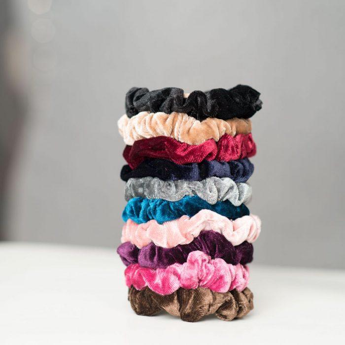 10 Pack Velvet Scrunchies $4.79 (Reg. $14.99)