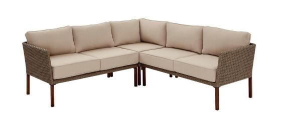 Swell Hampton Bay Gladstone 3 Piece Steel Patio Set 349 30 Reg Cjindustries Chair Design For Home Cjindustriesco