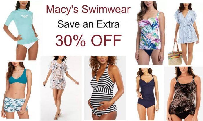 Macy S Swimwear Sale Save An Extra 30 Off Plus Free Shipping Utah Sweet Savings