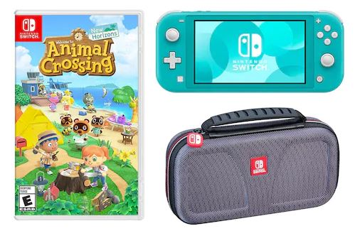 Nintendo Switch Lite Portable Gaming System Animal Crossing New
