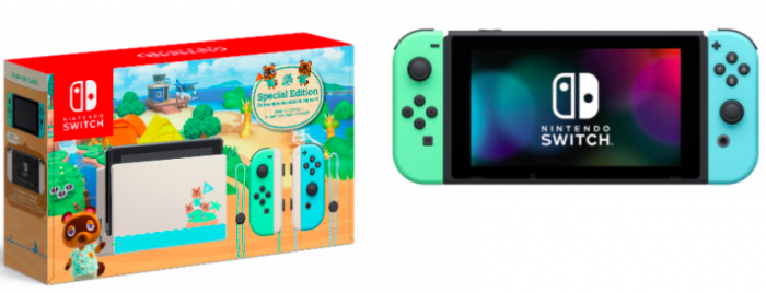 Nintendo Switch Console, Animal Crossing: New Horizons ...