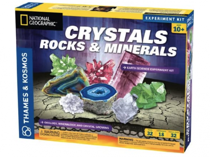 Earth Science Crystals Rocks & Minerals for $16.58 (Reg. $28.96) + Free Shipping with Prime!